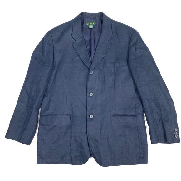 J. Crew Other - J. Crew 100% Linen 3-Buttons L/S Blazer Jacket